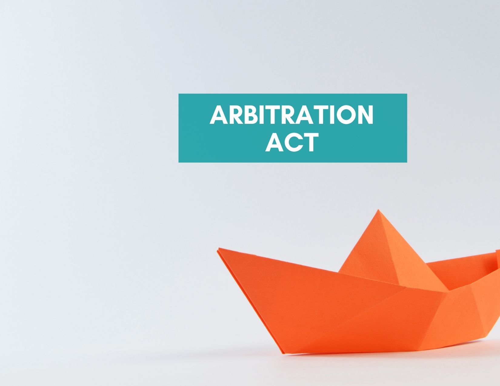 Stay of Proceedings under Arbitration Act for A Judgment In Default
