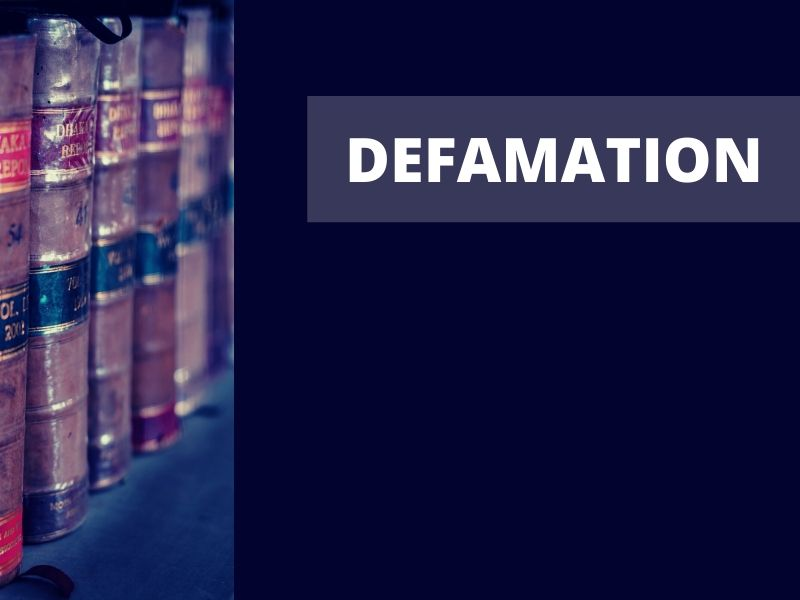 Can the Government Sue for Defamation?