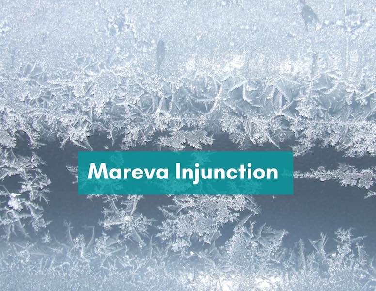 Varying a Mareva Injunction (Part 2)