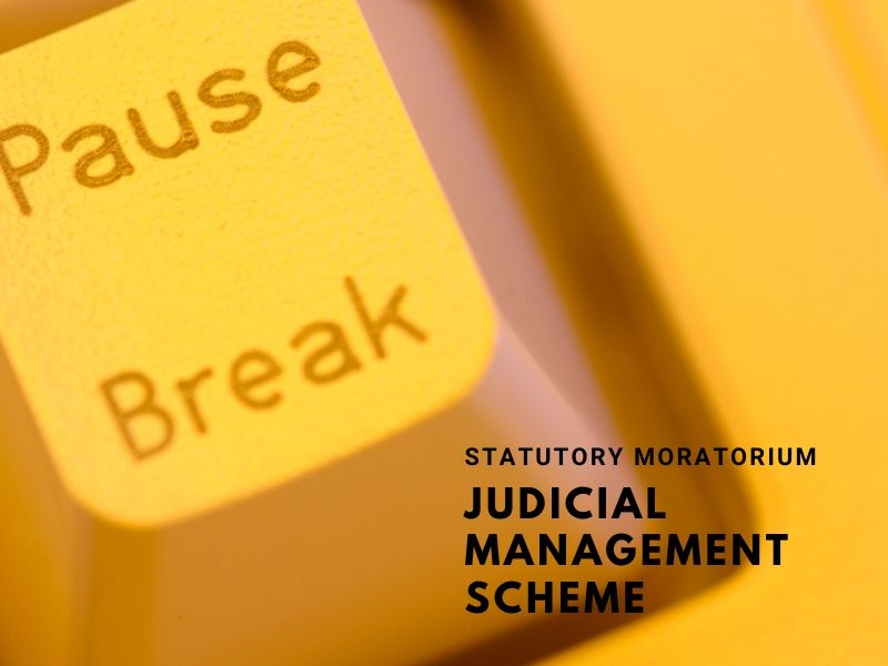 The Statutory Moratorium under The Judicial  Management Scheme
