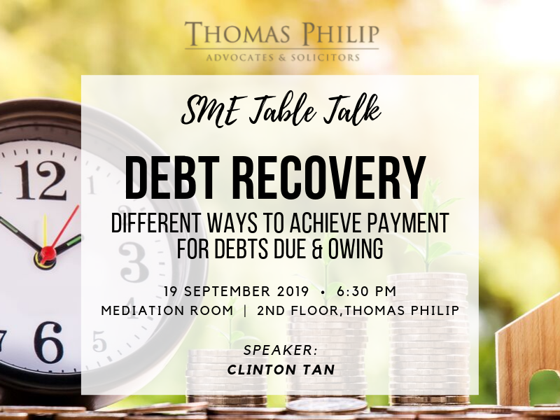 Debt Recovery: Different ways to achieve payment for debts due & owing